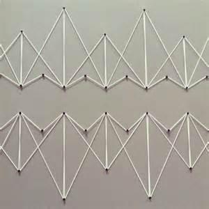 Geometric String Wall Art