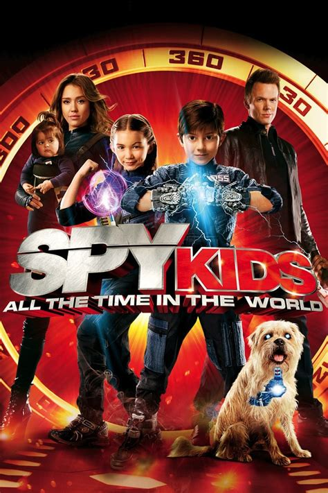spy kids time world posters