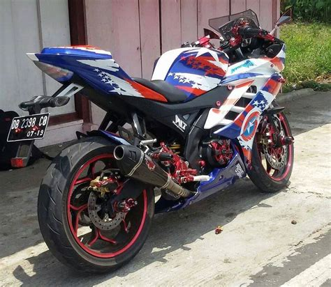 R15 Modif by Modifikasi Yamaha R15 Terbaru Movistar New Merah Velg Jari