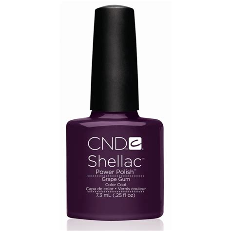 Cnd Uv L Canada by Cnd Shellac Uv Color Coat Grape Gum L Gel Nails