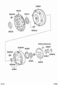2019 Toyota 4runner Ring  O  For Front Oil Pump Body   Outer  Transmission  Driveline