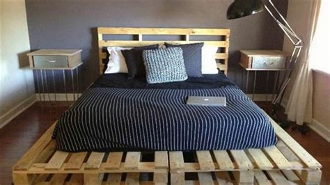pallet bed ideas   budget youtube