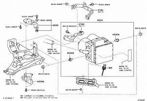 Toyota Prius Brake Hydraulic Hose  Front   Brakes  Flexible  Line