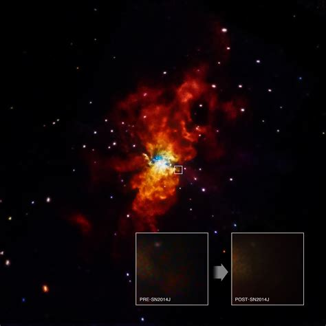 Chandra :: Photo Album :: M82 SN2014J :: August 14, 2014