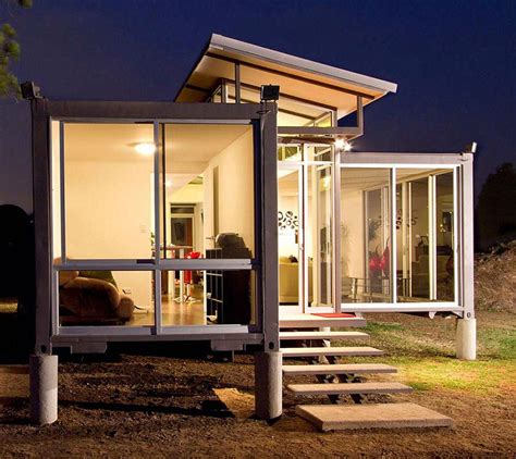 Awesome Artistic House  Creative Container Houses