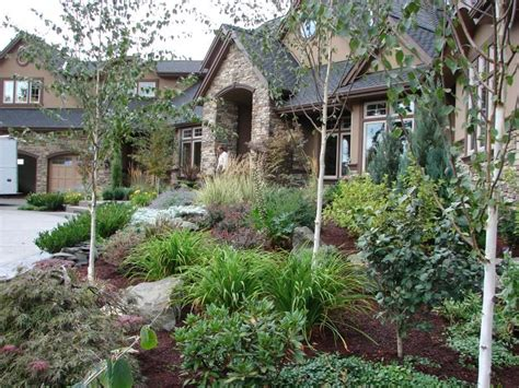 mountain landscaping ideas mountain style landscaping