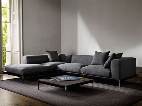 modular l shaped sofa savile modular l shape sofa charcoal savile collection