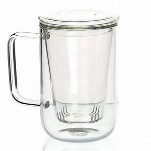 Teetassen Aus Glas : b ro glas teetassen becher mit glas sieb filter ei und deckel aus edelstahl zum verkauf ~ Buech-reservation.com Haus und Dekorationen
