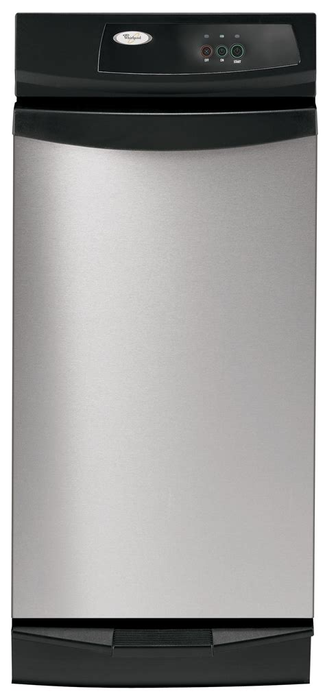 whirlpool gxqpps  hp undercounter trash compactor stainless steel