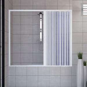 Baignoire Avec Porte Pas Cher : pare baignoire douche en plastique pvc mod nina 170cm ~ Premium-room.com Idées de Décoration