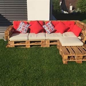Terrasse Aus Europaletten : gartenlounge aus paletten selber bauen kunst aus paletten pinterest ~ Orissabook.com Haus und Dekorationen