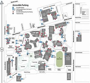 Santa Rosa Campus Accessible Parking Map | ADA/Accessibility