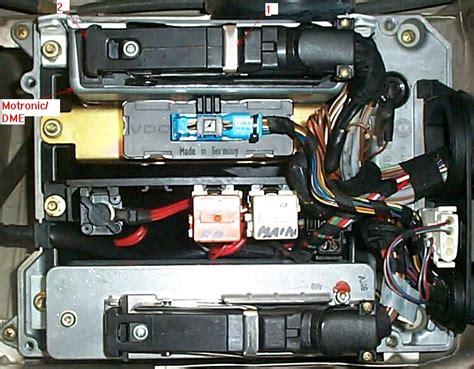 Fuse Box Diagram 1990 Bmw 730i by Where Is Ecu Located On A E32 735i