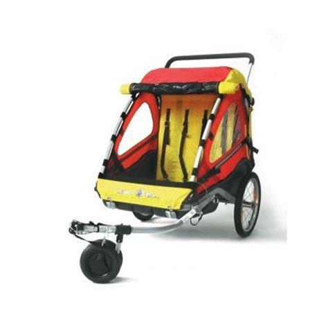 housse pour siege de voiture kiddy 101 remorque vélo enfant avec kit piéton