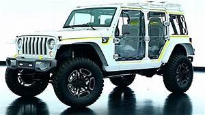 2017 Jeep Safari Wrangler Concept Video Exterior ...