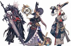Final Fantasy 14 Heavensward Dark Knight Astrologian