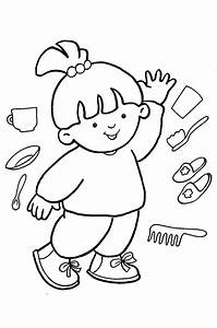 Free coloring pages of body parts