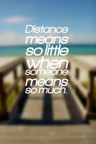 relationship quotes  shows love   distance