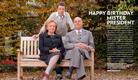 chirac happy birthday mister president