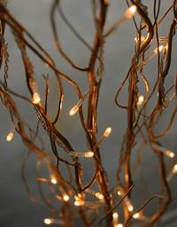 lighted tree branches Lighted Natural Gold Willow Branches 39in