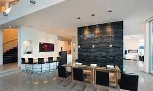 magnifique residence de luxe au bord dun lac au canada With bar pour maison design