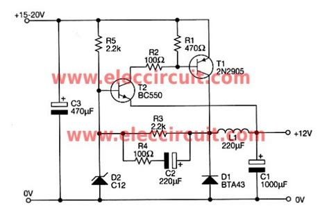 Volts Switching Power Supply Using Transistor Elec