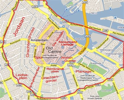Amsterdam Museum District Map by Viaje Informado