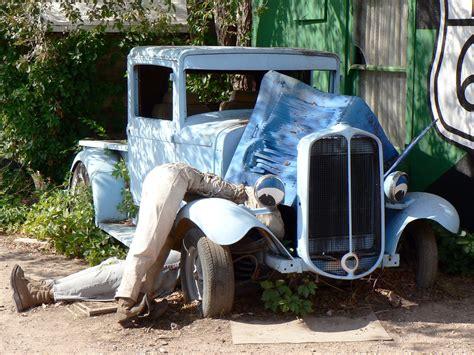 rattletrap car images gratuites jeep véhicule vieille voiture