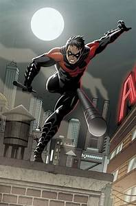 Red Nightwing | Batman | Pinterest