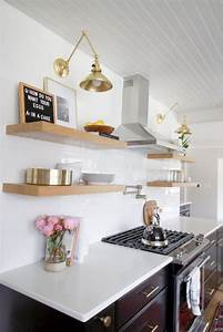 How, To, Style, Open, Shelves, In, The, Kitchen