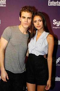 if paul wesley is not married and nina is single..would ...