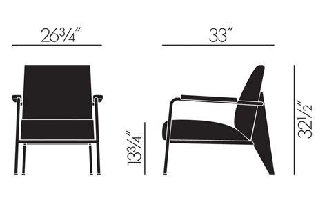 prouv 233 fauteuil de salon lounge chair hivemodern