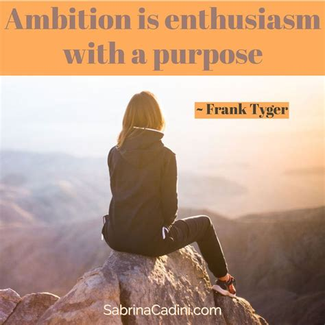 How do you define ambition? - Sabrina Cadini