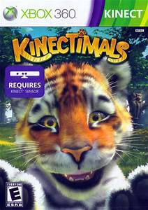 X360 Kinectimals Xbox 360 Game