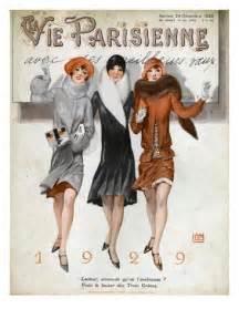 La Vie Parisienne Magazine by La Vie Parisienne Magazine Cover France 1928 Giclee