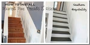 Best Carpet For Hallway And Stairs by Before And After Painted Pine Stairs
