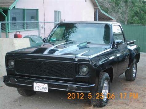 Find New 77 Chevy Stepside Pickup Complete Custom Off