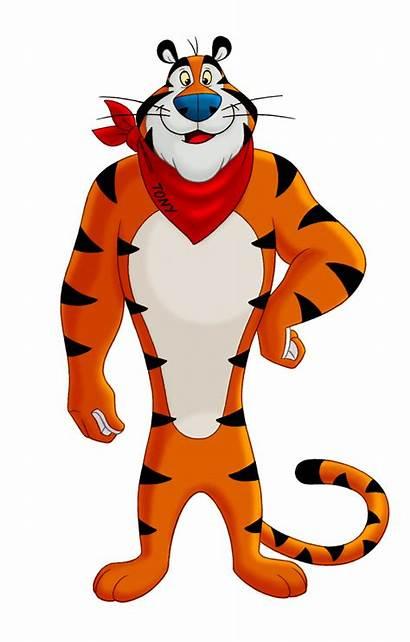Tiger Tony Famous Mascot Brand Cats Characters