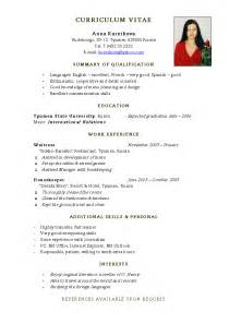 resume format for engineering students pdf download come scrivere il proprio curriculum