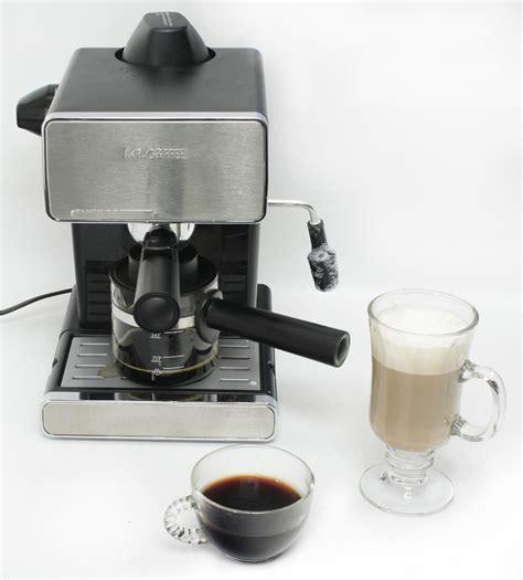 coffee espresso machine mr coffee steam espresso cappuccino maker jeffs reviews
