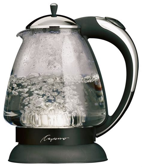 kettle water capresso glass plus electric tea boiling kettles h2o put away efficiency attractive blend h20 pot want ll epicurious