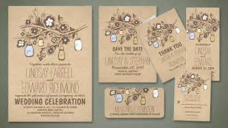 rustic wedding invitations read more shabby chic floral jars rustic wedding invitations wedding invitations by