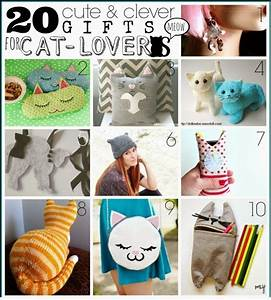 20 handmade gifts for cat crafts