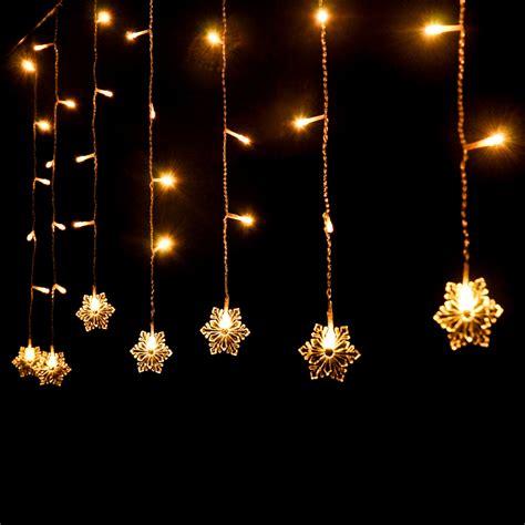 led garland xmas lights aliexpress com buy 4 0 6m 220v snowflake new year