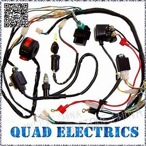 50cc 70cc 110cc 125cc Atv Quad Electric Full Set Parts