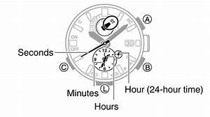 Measuring Elapsed Time Module No  5588 G-shock