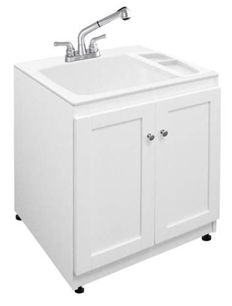 laundry tub cabinet kit storage pinterest