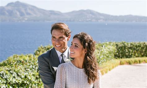 Wedding of the year in majorca. Rafa Nadal marries Mery Perello: See her TWO stunning ...