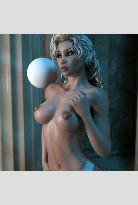 Charming nature steamy 3D elf allows us to ascertain her in the nude