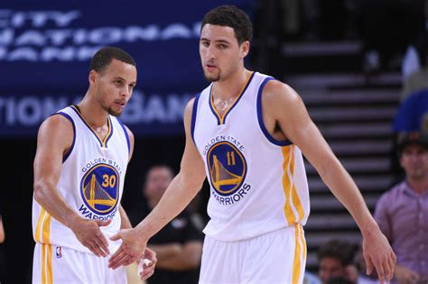 "Stephen Curry, Klay Thompson Talk Origins Of ""splash Brothers"" Nickname Complex"